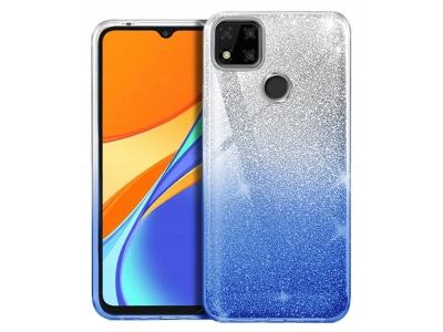 Силиконов калъф BLING за Xiaomi Redmi 9C, Син