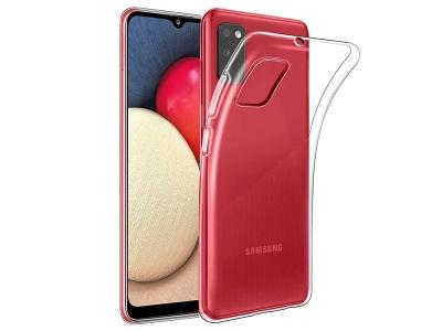 Силиконов калъф 0.5мм за Samsung Galaxy A02s, Прозрачен