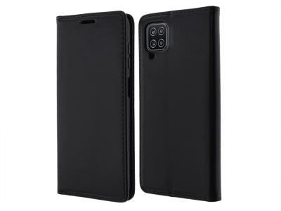 Калъф Тефтер Magnet Book за Samsung Galaxy A12, Черен