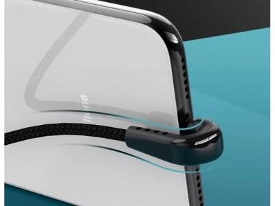 Кабел REMAX USB за Iphone Lightning 8-pin HEYMANBA Gaming 3A RC-097i 1m, Черен