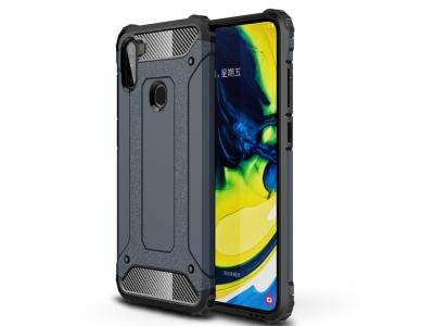 Удароустойчив калъф Armor за Samsung Galaxy A11, Тъмно син