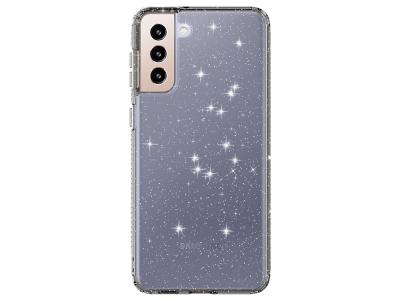Силиконов калъф Clear Color за Samsung Galaxy S21Plus 5G, Сив