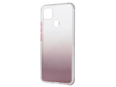 Удароустойчив калъф Gradient Color за Xiaomi Redmi 9C, Кафяв