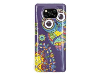 Силиконов калъф за Xiaomi Poco X3 NFC/X3 Soft Phone Cover, Бухал