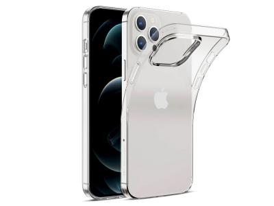 Силиконов калъф 0.5mm за iPhone 12 / 12 Pro, Прозрачен