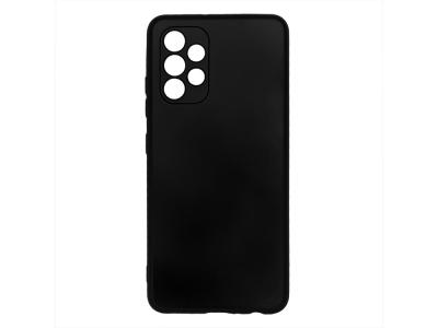 Силиконов калъф Level за Samsung Galaxy A72, Черен