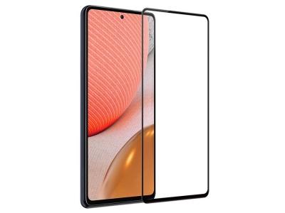 Стъклен Протектор 9D Full за Samsung Galaxy A72, Черен