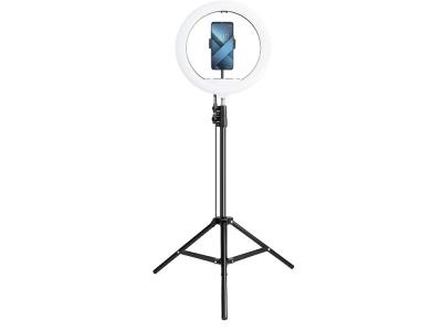 Статив с 13 LED Лампа ринг + Поставка за телефон