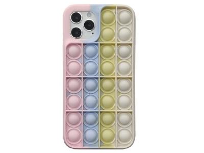 Силиконов калъф Push Pop Bubble за iPhone 11, Розов