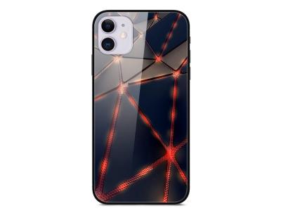 Стъклен Гръб Glass за iPhone 12 Pro / iPhone 12, Лава