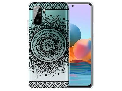 Силиконов калъф за Xiaomi Redmi Note 10 4G/10S, Дантела