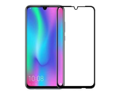 Стъклен Протектор 9D Full за Huawei P Smart 2019, Черен