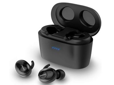 Слушалки Bluetooth Philips TWS SHB2515BK UpBeat, Черен