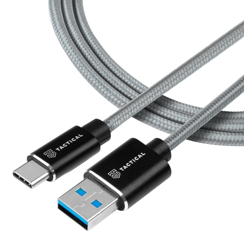 USB Кабел Tactical Fast Rope Kevlar USB-C/USB-C 100W 20V/5A 2m Grey