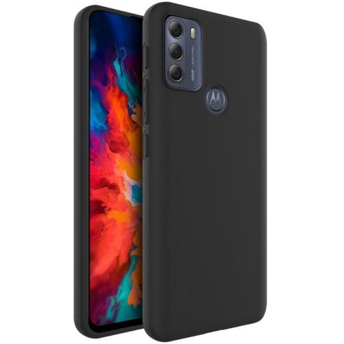 Силконов калъф Matt IMAK UC-3 за Motorola Moto G50, Черен