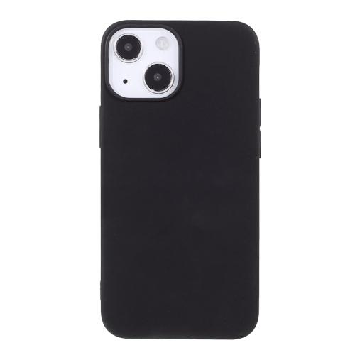 Силиконов калъф Matte за iPhone 13 6.1 inch, Черен