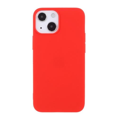 Силиконов калъф Matte за iPhone 13 6.1 inch, Червен