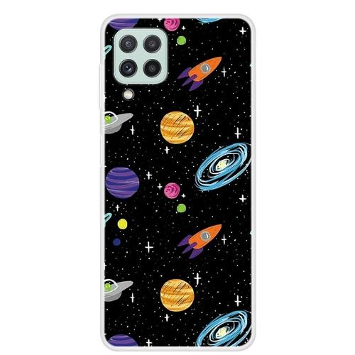 Силиконов калъф за Samsung Galaxy A22 4G, Планети