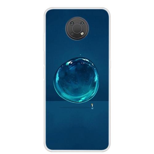 Силиконов калъф за Nokia G20 / G10, Воден балон