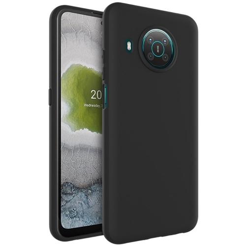 Силиконов калъф Matt IMAK UC-3 за Nokia X10/X20, Черен