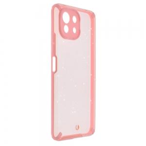 Удароустойчив калъф Armor Glitter за Xiaomi Mi 11 Lite 4G/5G, Розов