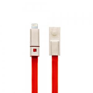 USB кабел Отрежи/Поправи Lightning 1.5 m,Червен