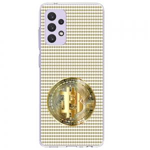 Силиконов калъф ArtDesign за Samsung Galaxy A72, Биткойн