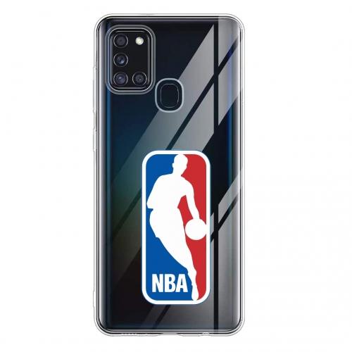 Силиконов калъф Color за Samsung Galaxy A21s, NBA