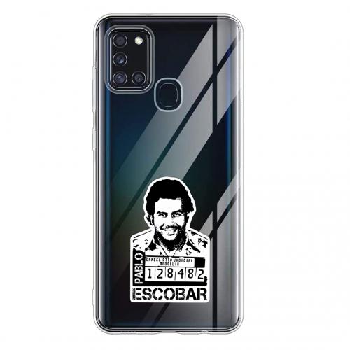Силиконов калъф Color за Samsung Galaxy A21s, Escobar