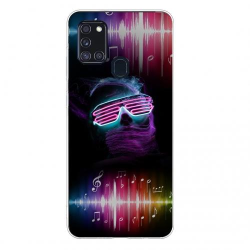 Силиконов калъф Color за Samsung Galaxy A21s, Disco