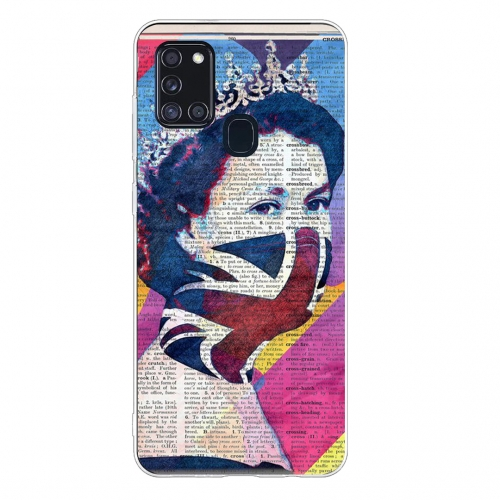 Силиконов калъф Color за Samsung Galaxy A21s, art Елизабет
