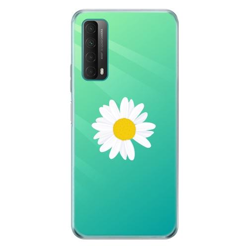 Силиконов калъф ArtDesign за Huawei P Smart 2021, Flower