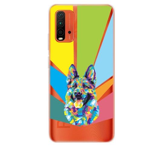 Силиконов калъф ArtDesign за Xiaomi Redmi 9T, Арт Куче