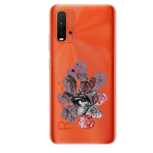 Силиконов калъф ArtDesign за Xiaomi Redmi 9T, Мъжко Око