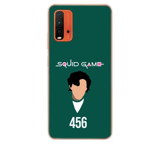 Силиконов калъф ArtDesign за Xiaomi Redmi 9T, Squid Game 456