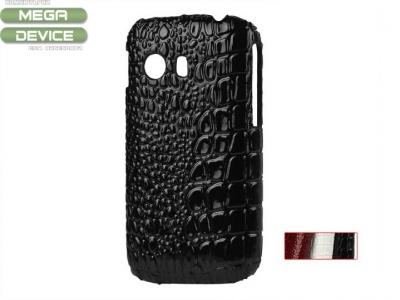 Crocodile Leather Coated Hard Case for Samsung Galaxy Y S5360, Random