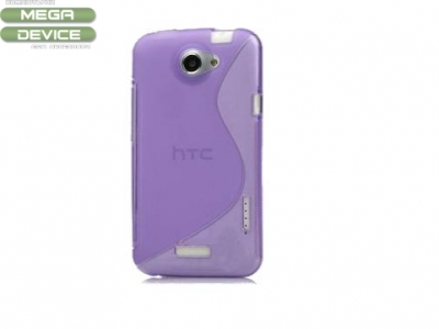 S Shape TPU Gel Case for HTC One X S720e Edge Endeavor / One XL, Random