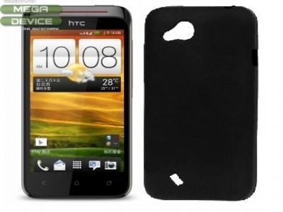 СИЛИКОНОВ ПРОТЕКТОР ЗА HTC DESIRE VC/T328D - BLACK