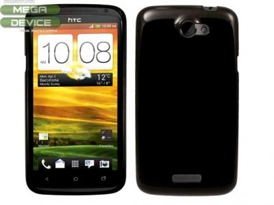СИЛИКОНОВ ПРОТЕКТОР ЗА HTC ONE X - BLACK