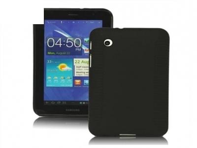 Stylish Blade TPU Case for Samsung Galaxy Tab 2 7.0 P3100 P3110 - Black