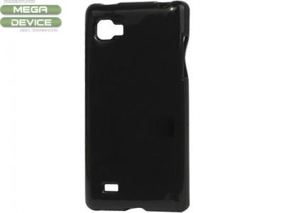 СИЛИКОНОВ ПРОТЕКТОР ЗА LG P880 OPTIMUS 4 X HD - BLACK