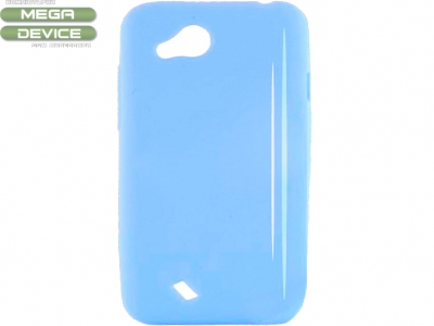 СИЛИКОНОВ ПРОТЕКТОР ЗА HTC DESIRE VC T328D - BLUE