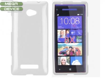 СИЛИКОНОВ ПРОТЕКТОР ЗА HTC 8X WINDOWS PHONE - WHITE