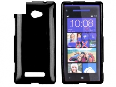 СИЛИКОНОВ ПРОТЕКТОР ЗА HTC 8X WINDOWS PHONE - BLACK