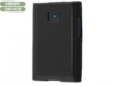 СИЛИКОНОВ ПРОТЕКТОР ЗА LG E400 OPTIMUS L3 - BLACK