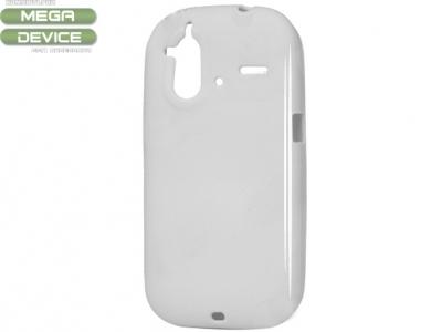 СИЛИКОНОВ ПРОТЕКТОР ЗА HTC G22 AMAZE 4G - WHITE