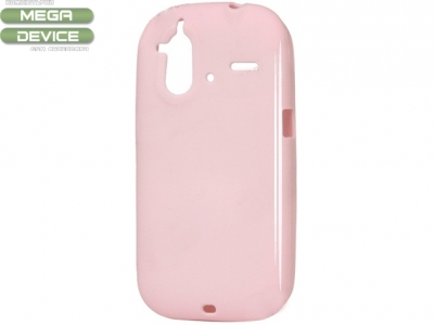 СИЛИКОНОВ ПРОТЕКТОР ЗА HTC G22 AMAZE 4G - PINK