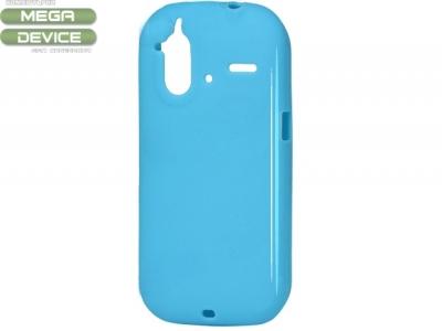 СИЛИКОНОВ ПРОТЕКТОР ЗА HTC G22 AMAZE 4G - BLUE