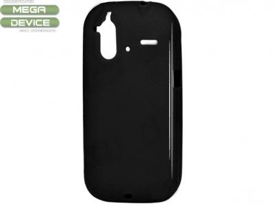СИЛИКОНОВ ПРОТЕКТОР ЗА HTC G22 AMAZE 4G - BLACK