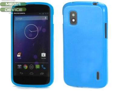 СИЛИКОНОВ ПРОТЕКТОР ЗА LG E960 NEXUS 4 - BLUE